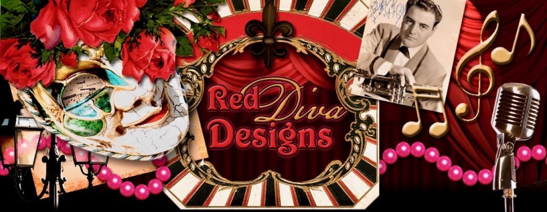 Red Diva Designs Banner