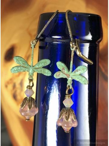 Juniper Creek Dragonfly Earrings